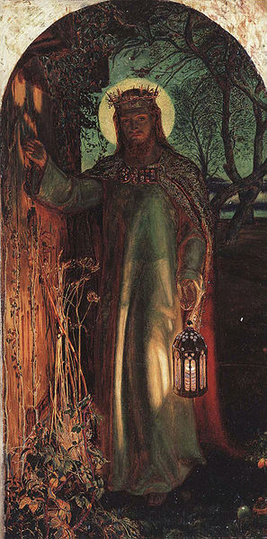 The Light of the World - William Holman Hunt(1827-1910)